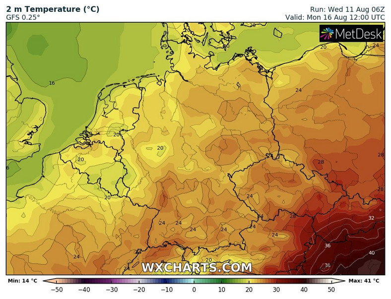 The beginning of the week in Germany will bring a lot of cold