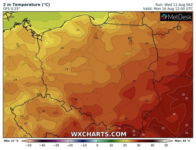 It's going to be the start of the hottest week in the Southeast