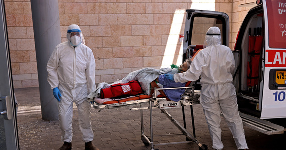 Nearly 10,000 new infections in Israel.  close to record
