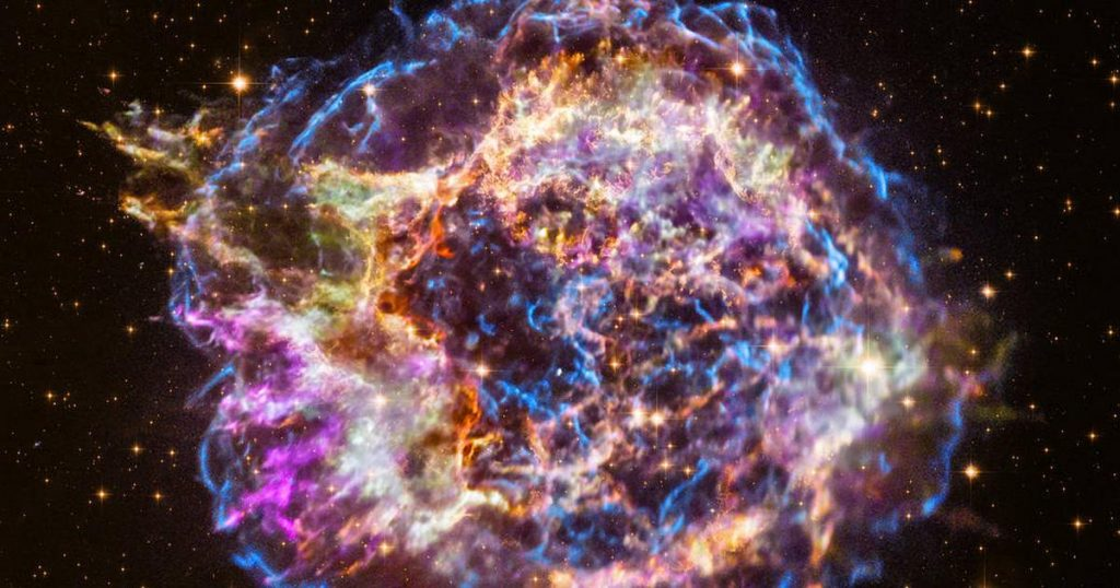 Astronomers say they have found the source of the Milky Way's cosmic rays