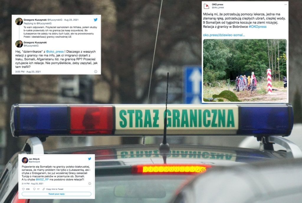 """A Somali woman near the Polish border?  """"Something stinks a lot in here."""""""