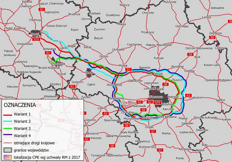 Bypassing the Warsaw Bloc