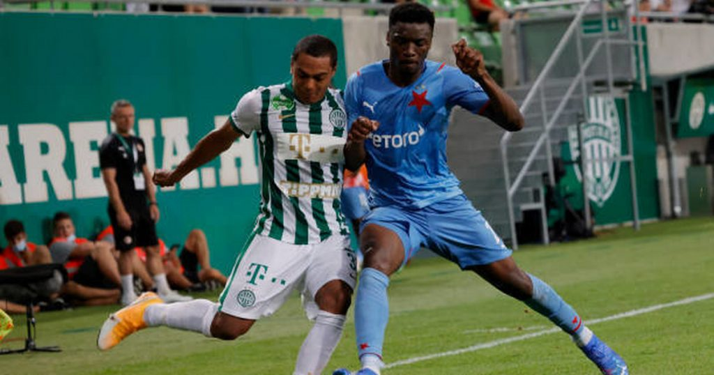 Champions League, Slavia Prague - Ferencvaros Budapest, a surprise in Prague.  Slavia was eliminated from the fight for the Champions League