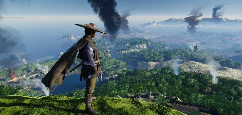 Cut out the ghost of Tsushima exit.  Analysis of improvements made to PlayStation 5