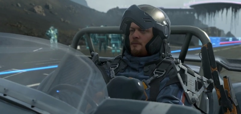 Death Stranding: Director's Cut on PS5 in the first game.  Check out Hideo Kojima's gameplay