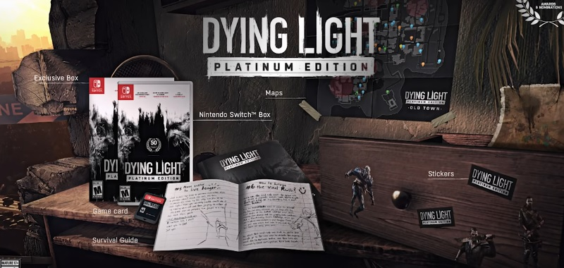 Dying Light Platinum Edition for Nintendo Switch is official!  Techland confirmed the new version