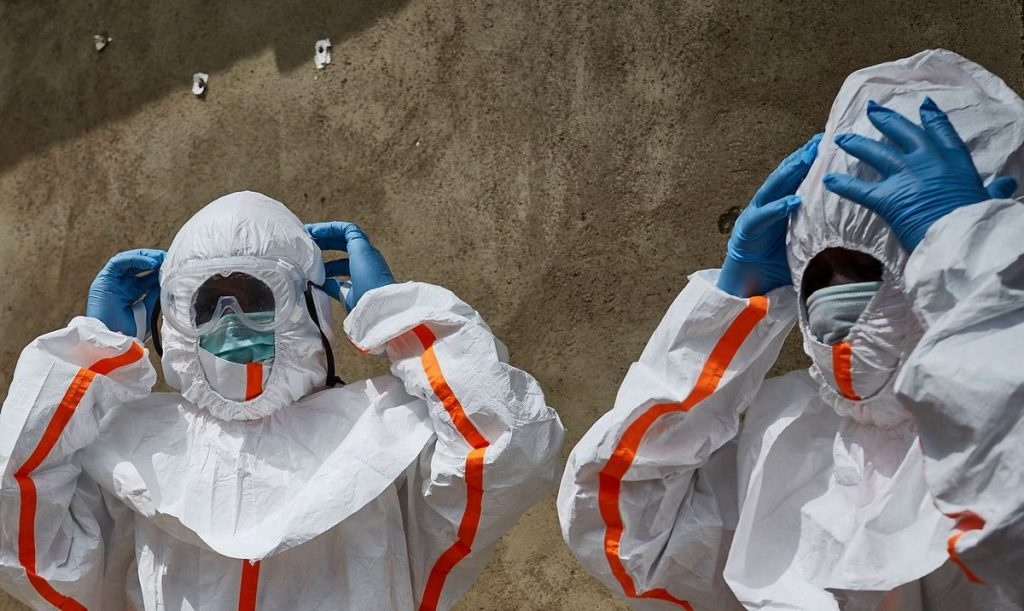 Ebola case detected in a city of 4 million in Africa