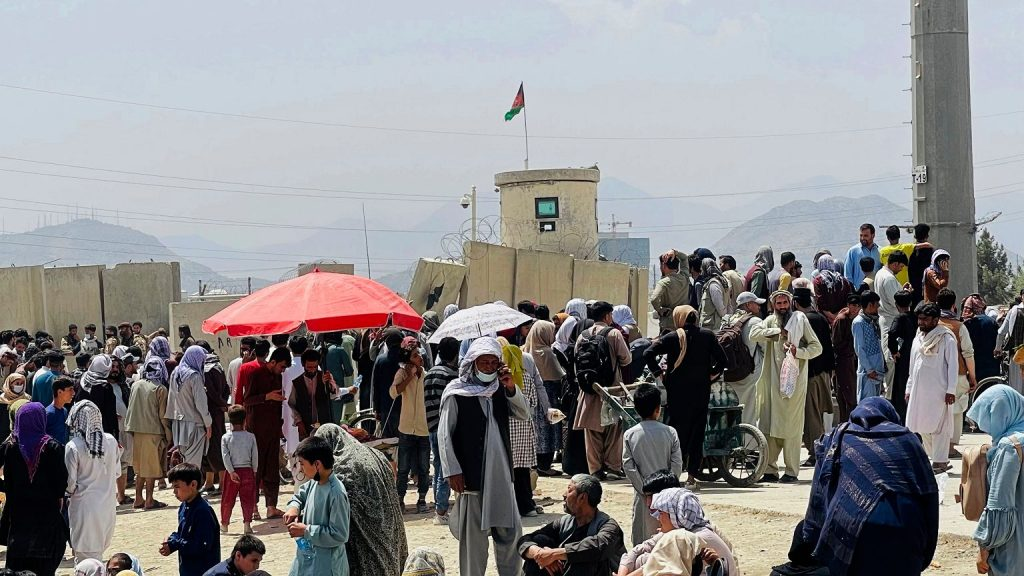 Germany is angry.  The first German plane evacuated only seven people from Kabul.  almost.  10 thousand is still waiting    world News