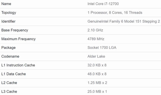 In the new performance test, the Intel Core i7-12700 processor beats the Ryzen 7 5800X.  The manufacturer also prepares Alder Lake processors without iGPUs [4]