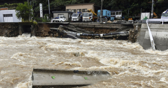 Japan: Floods and mudslides after rain.  At least three victims