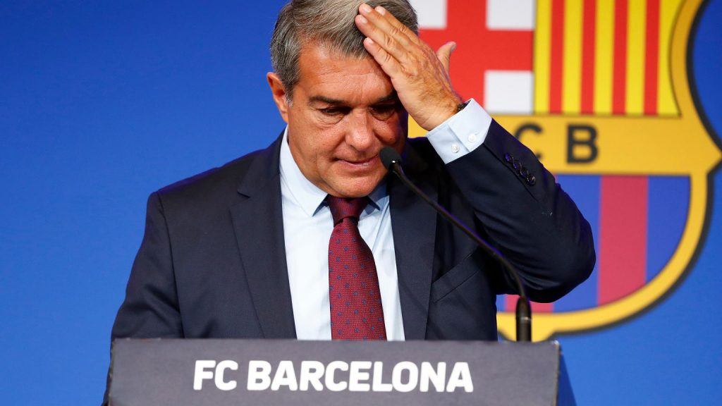 Laporta revealed the debts of Barcelona.  critical situation.  'He brought the club to ruin' Football