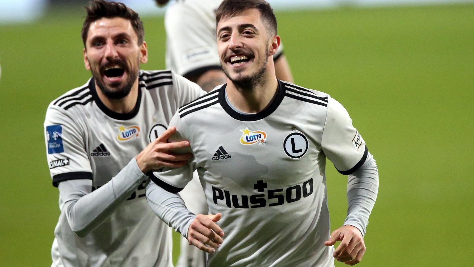 Legia Warszawa's goals in the match Warta