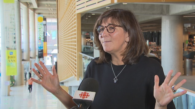 Mary Gregor considers her appointment as President of BAnQ to be non-discriminatory