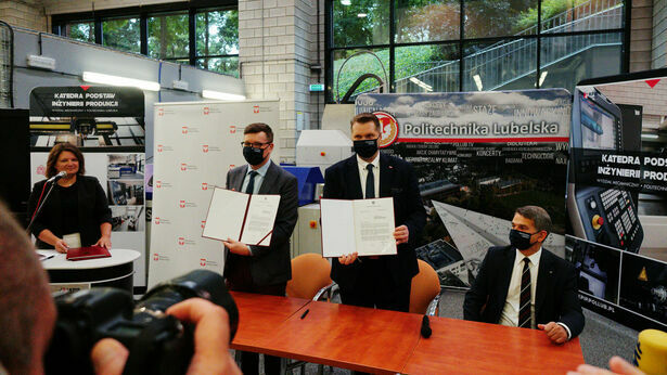 Million dollars for Lublin University of Technology.  Metrics experts will be pleased
