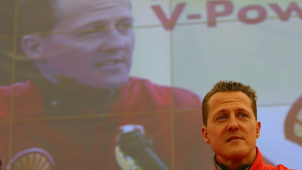 """New information on Schumacher's health.  """"I live with the consequences"""""""