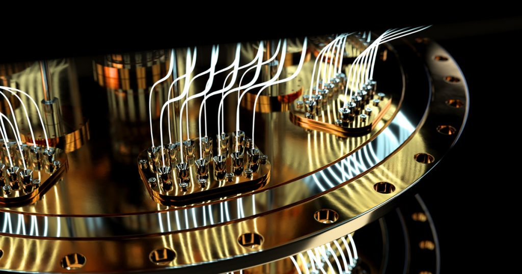 Quantum computers.  What are the security issues