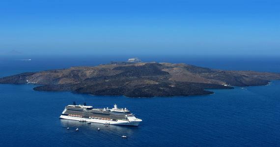 Santorini erupts at sea level