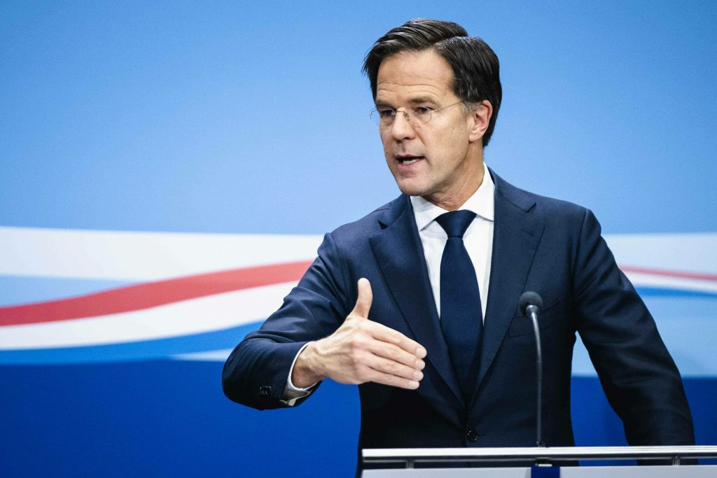 The Dutch government suspends financial aid to companies
