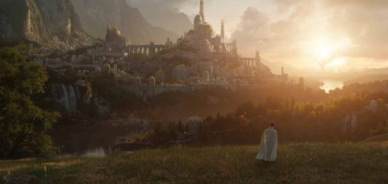 The Lord of the Rings from Amazon with a big change.  The second season will start soon