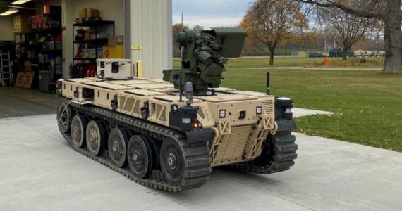 The US Army is testing autonomous combat robots