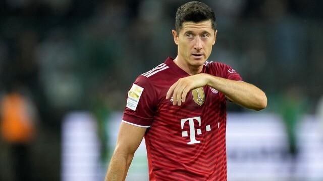 UEFA Player of the Year 2021/22: Robert Lewandowski fifth, third