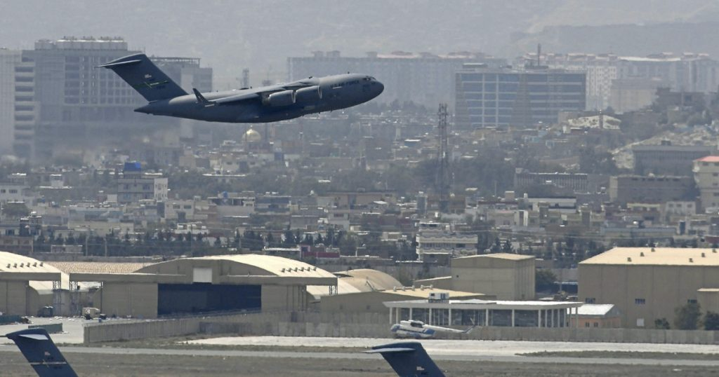 evacuation from Afghanistan.  The last American plane left Kabul
