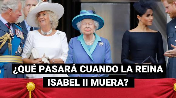 What if Queen Elizabeth II dies?