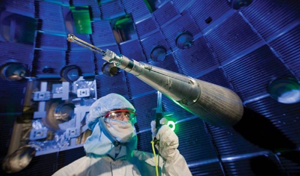 Laser fusion with a new record.  Scientists get to know better about thermonuclear reactions
