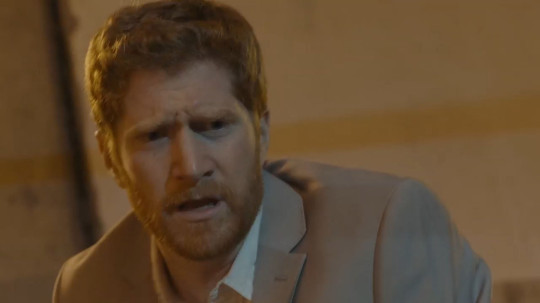 Jordan's Dean played the character of Prince Harry