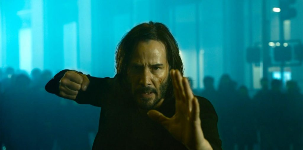 The Matrix: Resurrections - Keanu Reeves and the rest of the cast on the first shots of the movie