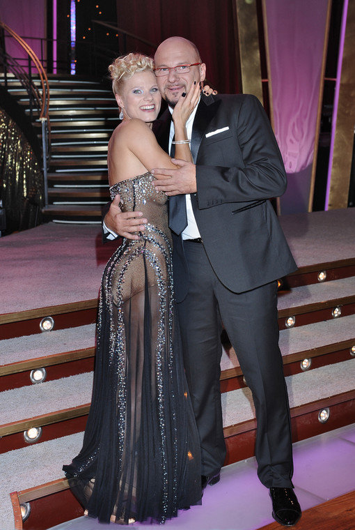 """Anna Zhugowska and Pyotr Gusovsky met during the preparations for the program """"Dancing with the stars"""""""
