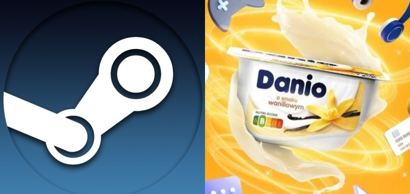 Steam recharge offer.  25 PLN to spend on toys when buying 5 Danio cheese