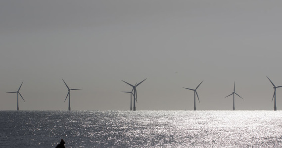 Offshore wind farms.  Lots of question marks in the Baltic Sea