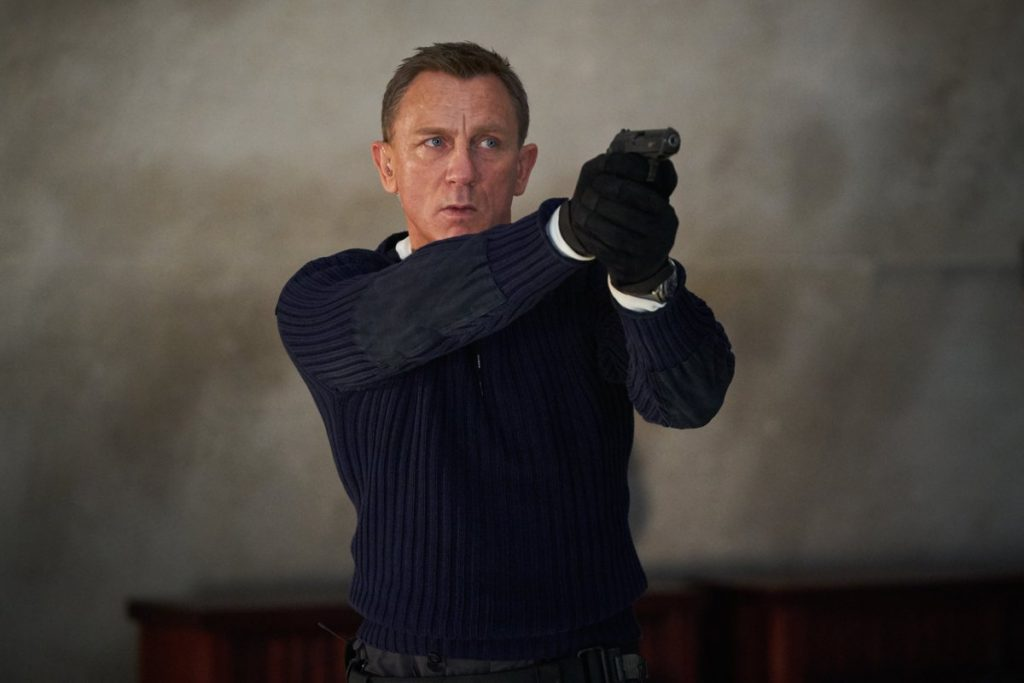 No Time to Die - Daniel Craig's emotional speech at the end of the shooting