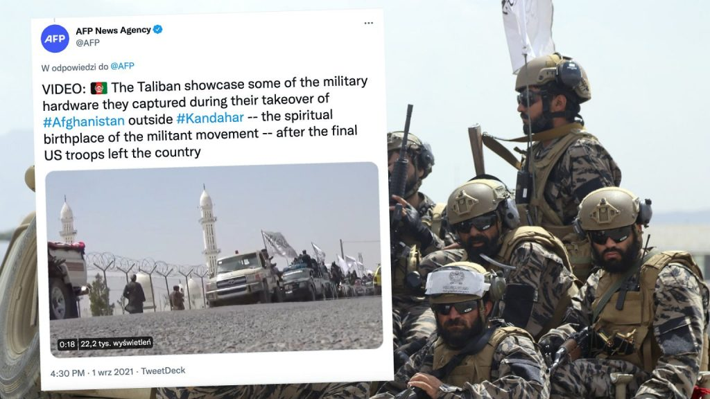 Afghanistan.  The Taliban organized rallies.  Provide the equipment of the American forces    News from the world