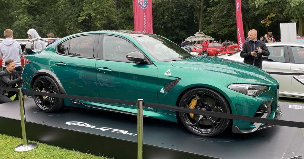 """Alfa Romeo for """"Bubble"""" - in Poland ordered by 6 people"""