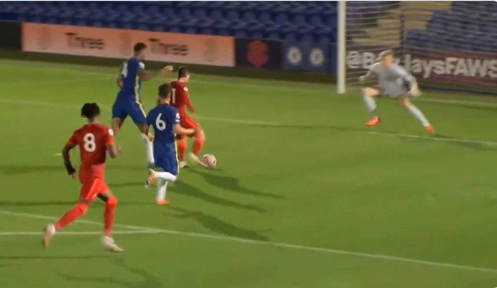 Another excellent performance by Mateusz Mosiewski.  Two goals for the 17-year-old against Chelsea [WIDEO] Becca Nona