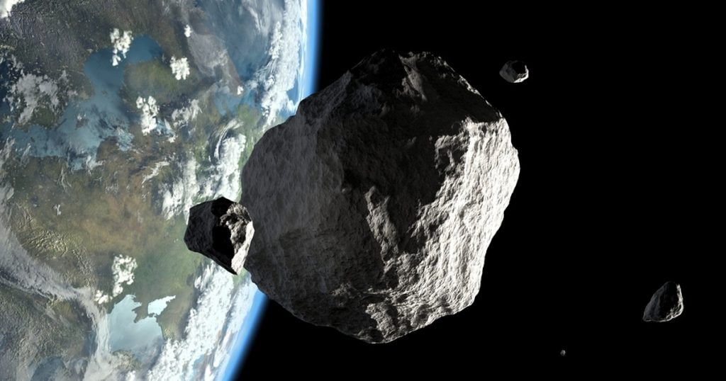 Asteroid 2021 SG flew through Earth before scientists discovered it