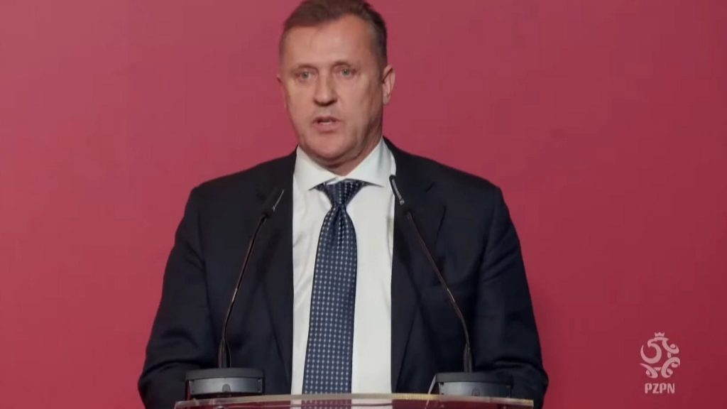 Cesare Colesa made his first very important decision as president of the Polish Football Association!  Football revolution