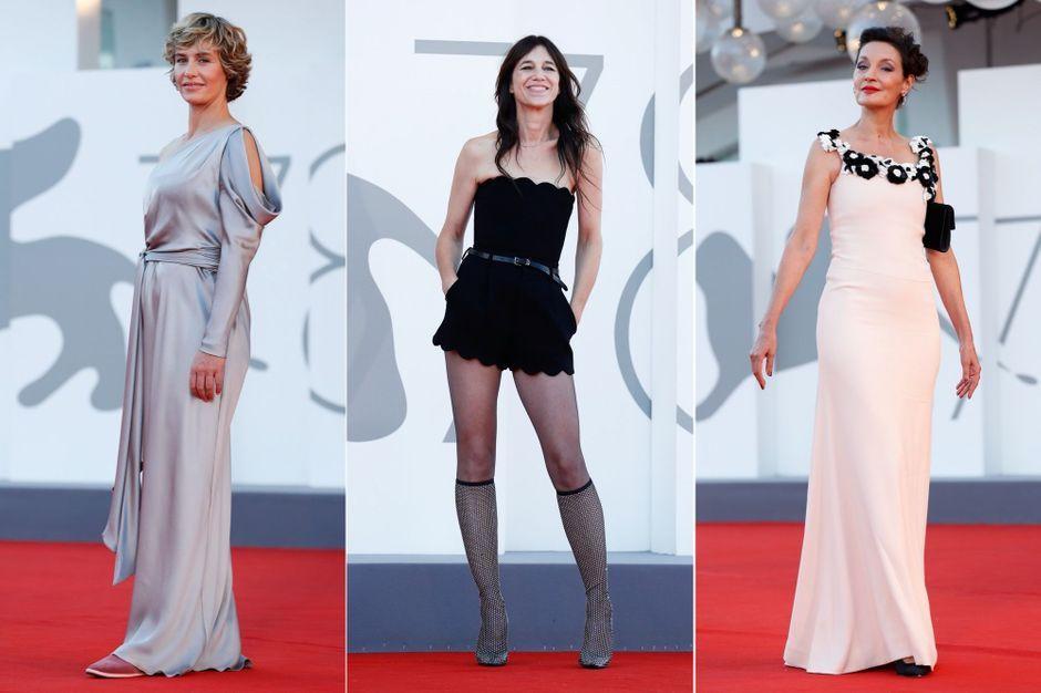 Charlotte Gainsburg, Cecil de France, Jean Polyber ... Gokoriko in Lido!
