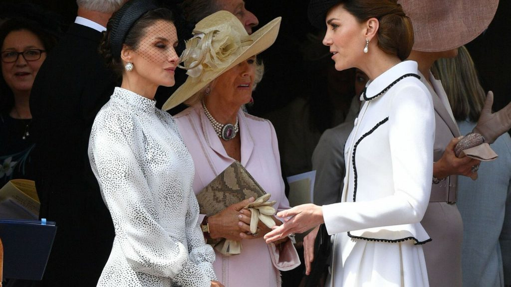 Duchess Kate treated the Letzy King like air.  He cannot deny that.  The cameras captured everything