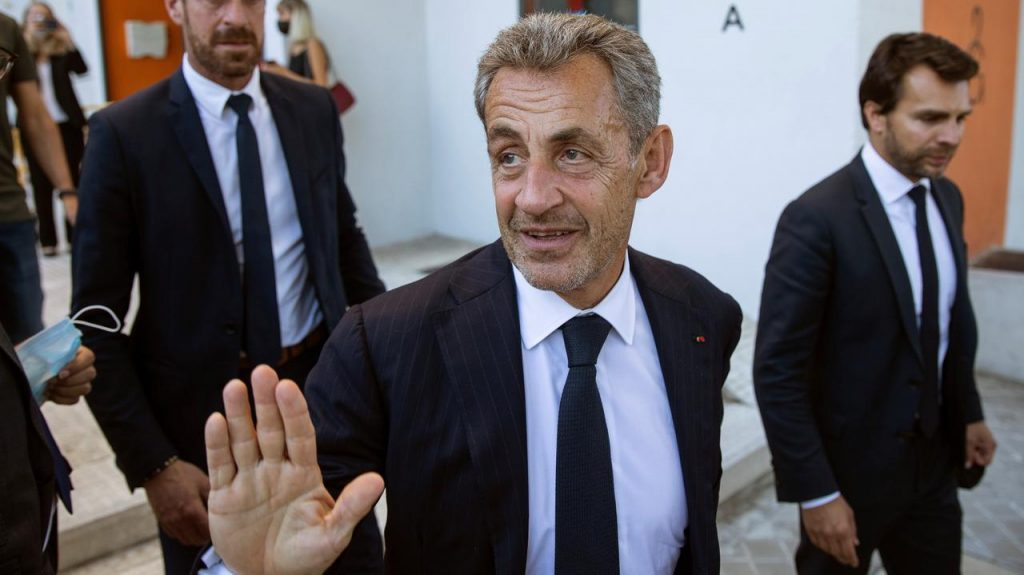 France.  Nicolas Sarkozy is convicted.  The former French president is guilty of illegally financing the 2012 presidential elections