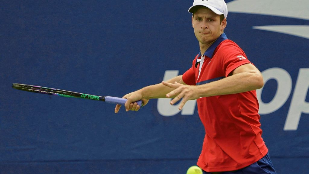 Hubert Hurkacz will play in the second round of the US Open.  where and what? [Transmisja TV, Stream] Tennis