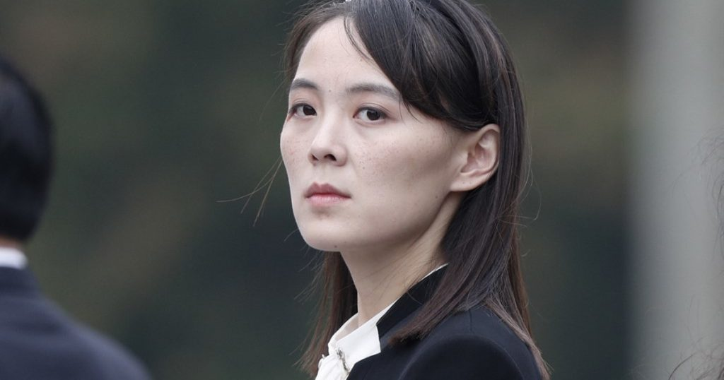 Kim Yoo Jung.  Kim Jong Un's sister is the most powerful woman in North Korea