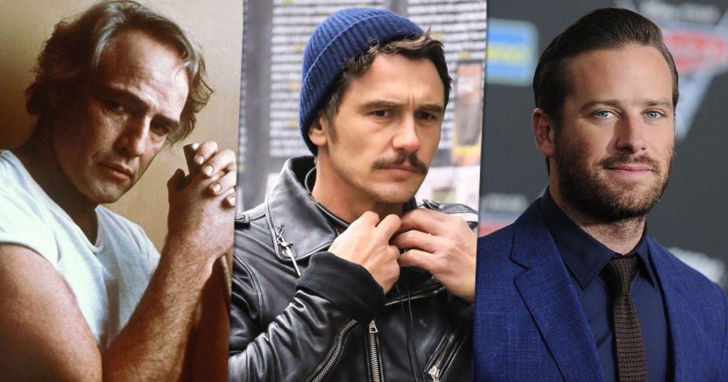 Marlon Brando.  Johnny Depp.  James Franco.  Accused of rape and beating