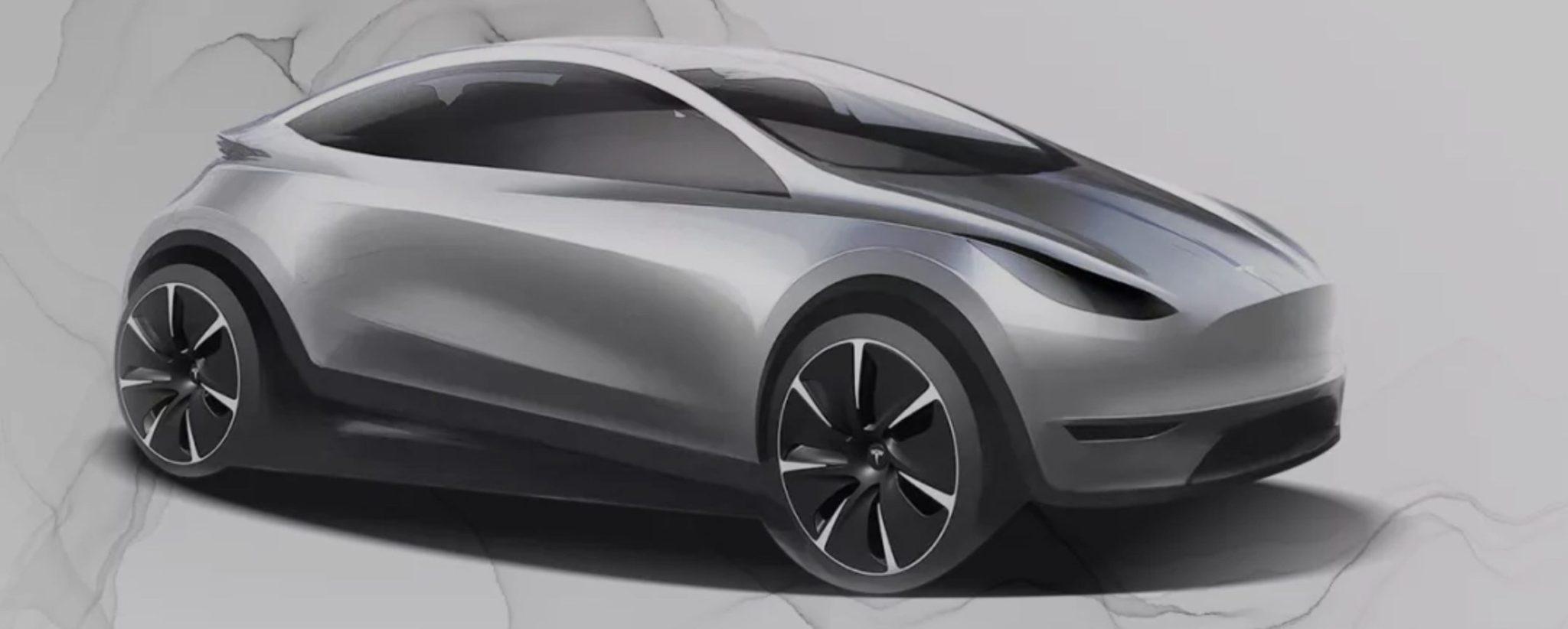 Tesla Model 2 - Sketch