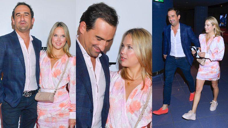 Mishaw Kotersky and 23-year-old Dagmara Bryzek radiate love at the Polish premiere of the James Bond movie (photos)