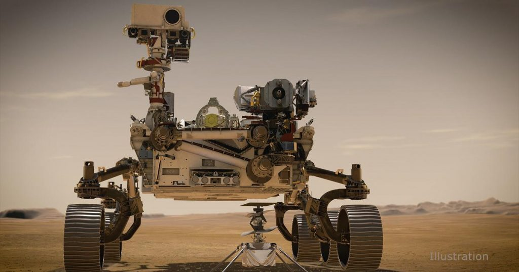NASA Perseverance has uploaded more images from Mars