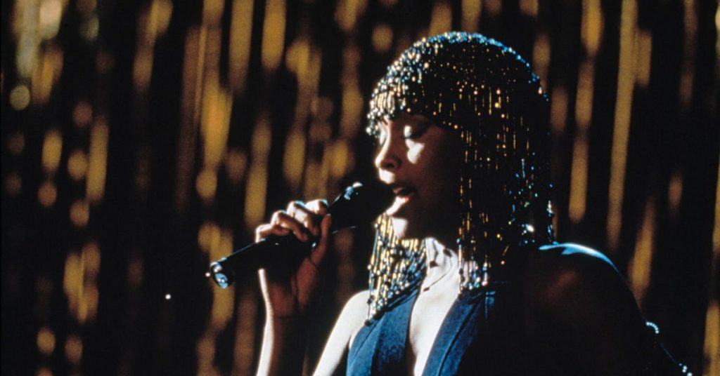 Personal guard.  A new version of the movie is being made.  Who will play in place of Whitney Houston?