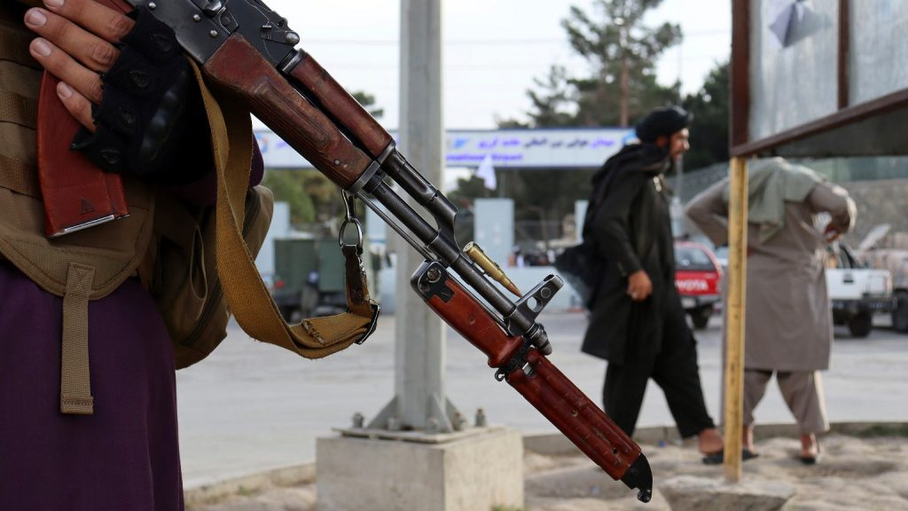 The Taliban are accused of killing a pregnant policewoman.  They were supposed to do this in front of her family    world News